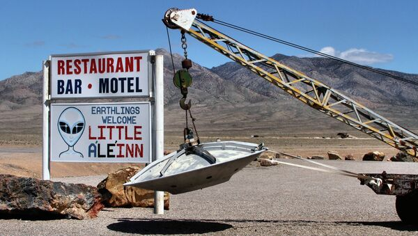 The Little A'Le'Inn in Rachel, Nevada, appeals to those interested in the area's history with UFO sightings. - Sputnik International
