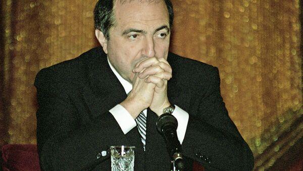 Boris Berezovsky - Sputnik International