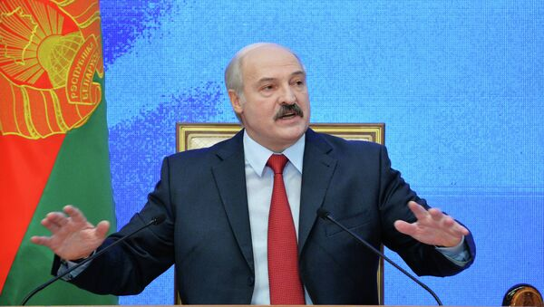 News conference of Belarusian President Alexander Lukashenko - Sputnik International