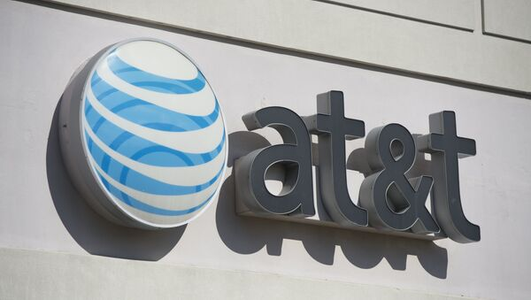 An AT&T cellphone store is seen in Springfield, Virginia - Sputnik International