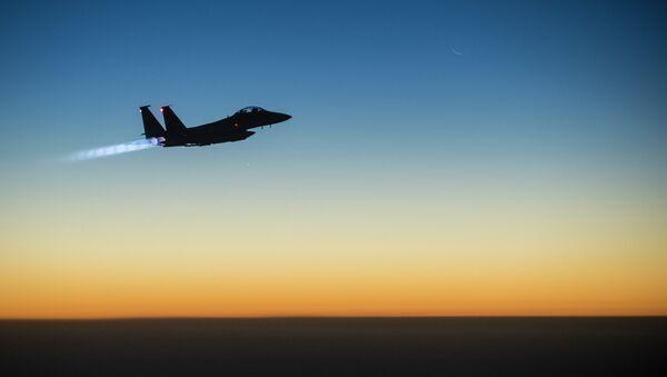 US Air Force F-15E Strike Eagle aircraft - Sputnik International