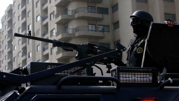 Egyptian security forces - Sputnik International