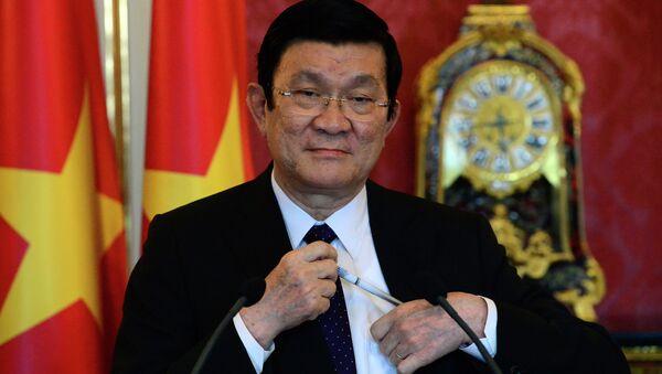 Vietnamese President Truong Tan Sang - Sputnik International