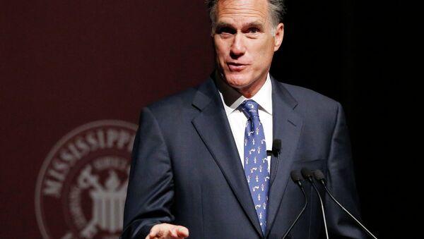 Mitt Romney plans to enter the presidential race again for 2016. - Sputnik International