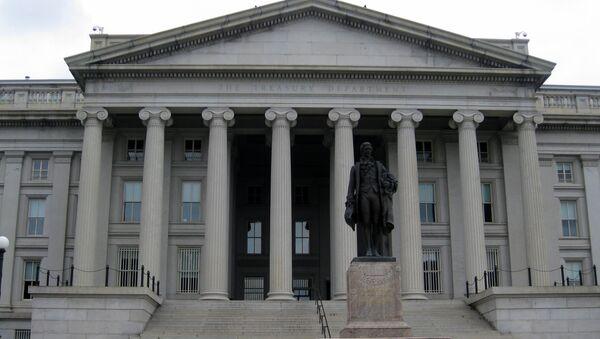 Washington DC: Department of Treasury - Sputnik International