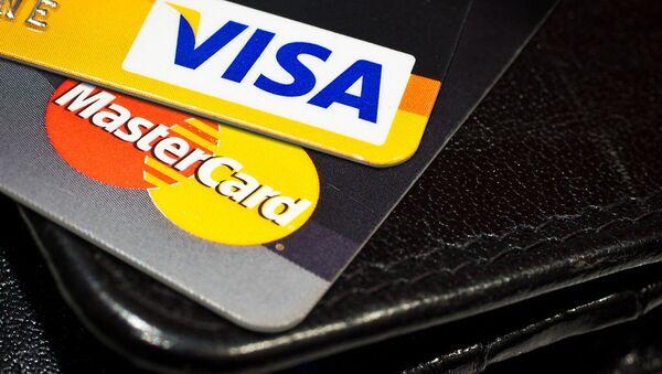 Карты Visa и Mastercard - Sputnik International