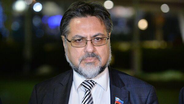 Representative of the Lugansk People's Republic (LPR) Vladislav Deinego - Sputnik International