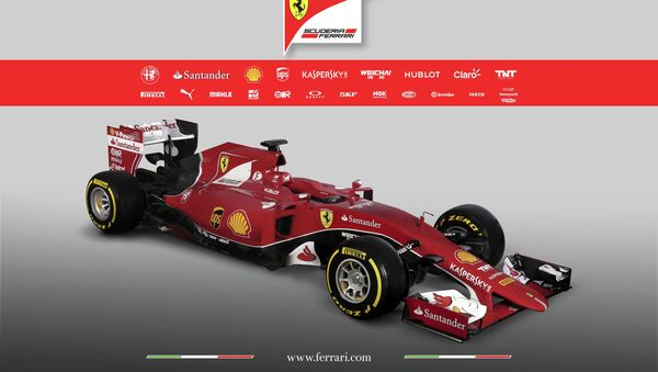 The new Ferrari Formula One SF15-T is seen in this undated handout image released January 30, 2015 - Sputnik International