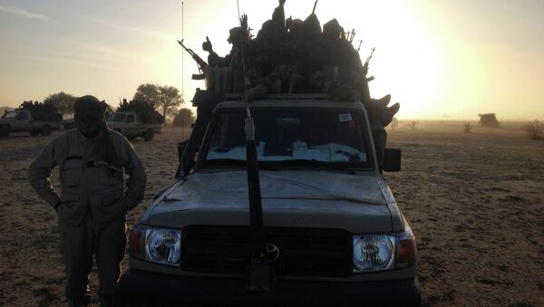 Soldiers of the Chadian army from a regional contingent fighting Islamist terrorist group Boko Haram. File photo. - Sputnik International
