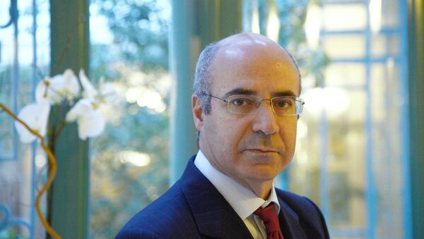 Hermitage Capital investment fund CEO William Browder poses on February 11, 2013 at the Westin Vendome Hotel in Paris - Sputnik International
