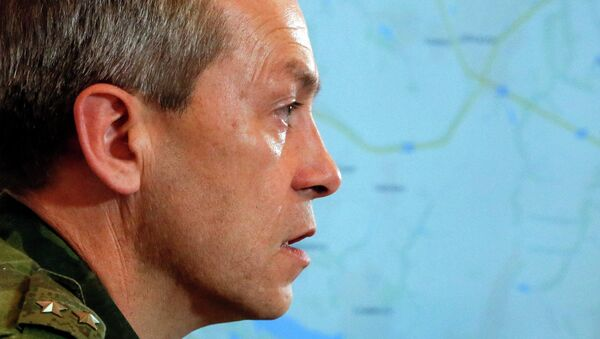 Eduard Basurin, deputy commander of the self-proclaimed Donetsk People's Republic - Sputnik International
