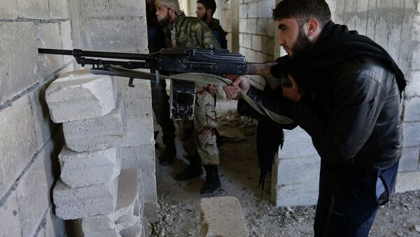 Syrian rebels battled government troops near a landmark 12th century mosque in the northern city of Aleppo. - Sputnik International