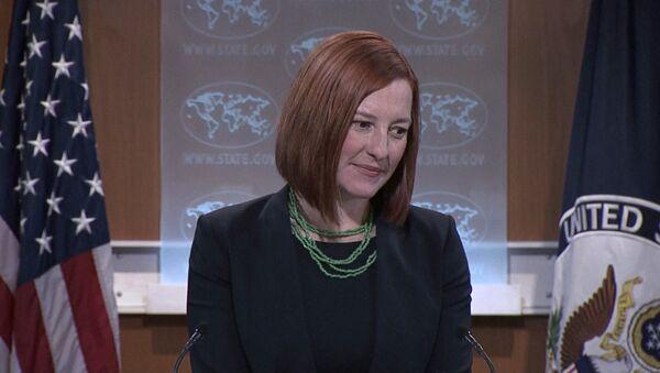 US State Department spokesperson Jen Psaki - Sputnik International