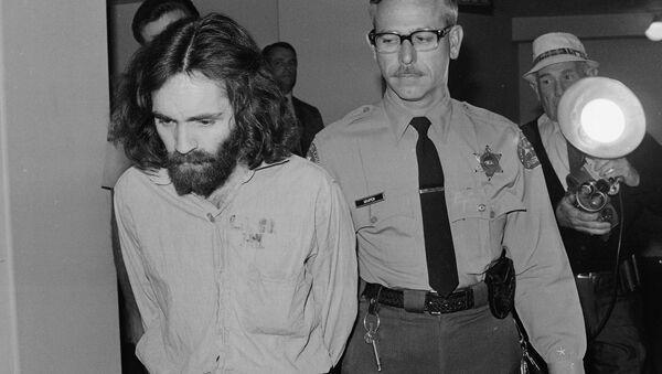 Charles Manson was convicted in 1971 of murdering seven people. - Sputnik International