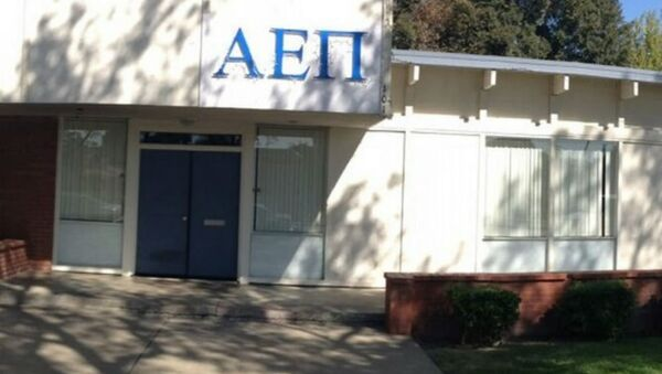 Brothers at a Jewish fraternity at the University of California at Davis awoke Saturday to find red swastikas spray-painted on their off-campus house. - Sputnik International