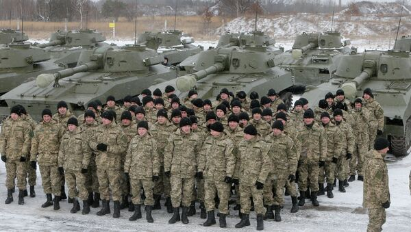 The U.S. military will deploy soldiers to Ukraine this spring to train the country's newly established National Guard. - Sputnik International