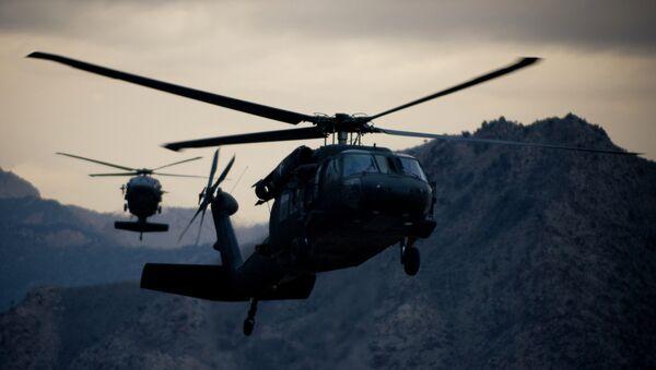 UH-60 Black Hawk helicopters - Sputnik International