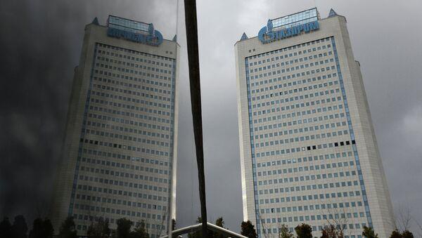 Gazprom building in Moscow - Sputnik International