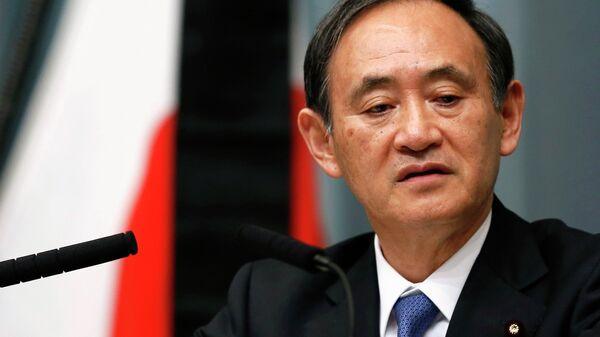 Japan's Chief Cabinet Secretary Yoshihide Suga - Sputnik International