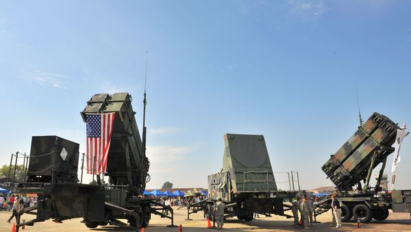 A US Army's Patriot Surface-to Air missile system - Sputnik International