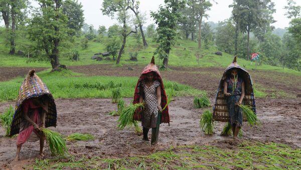 Indian farmers - Sputnik International