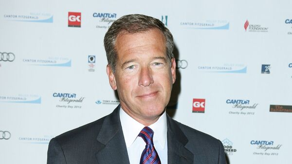NBC Nightly News Anchor Brian Williams has apologized for making false statements about his experiences in Iraq. - Sputnik International