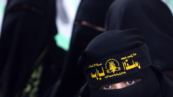 Female supporters of Islamic jihad - Sputnik International