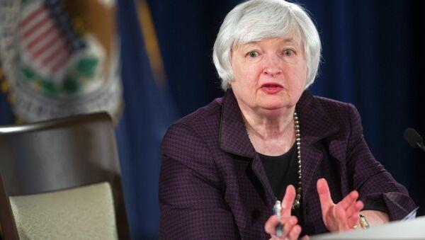Federal Reserve Chairwoman Dr.Yellen plans to fight Senator Paul's legislation - Sputnik International