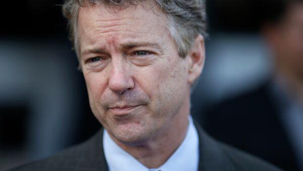 Senator Rand Paul reintroduced a piece of legislation that may ruin the economy. - Sputnik International