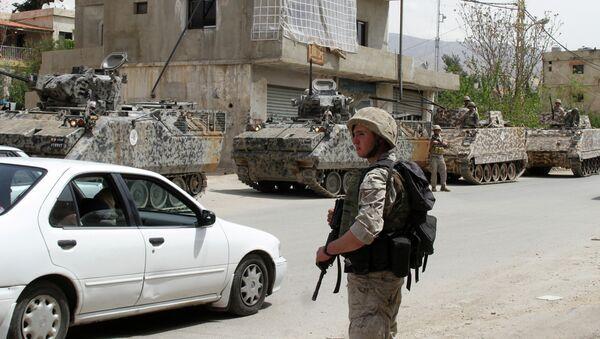 Lebanese security forces - Sputnik International