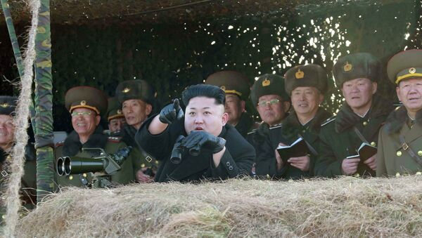 North Korean leader Kim Jong Un - Sputnik International