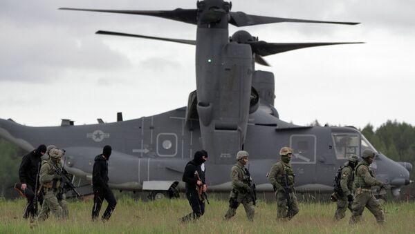 NATO  forces  - Sputnik International