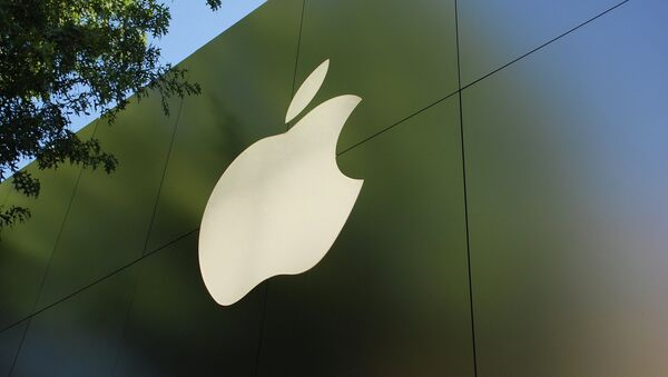 A vehicle, registered to Apple and equipped with 12 cameras and a lidar sensor that scans the environment using a spinning laser, was spotted in the San Francisco Bay Area and in Brooklyn, New York. - Sputnik International