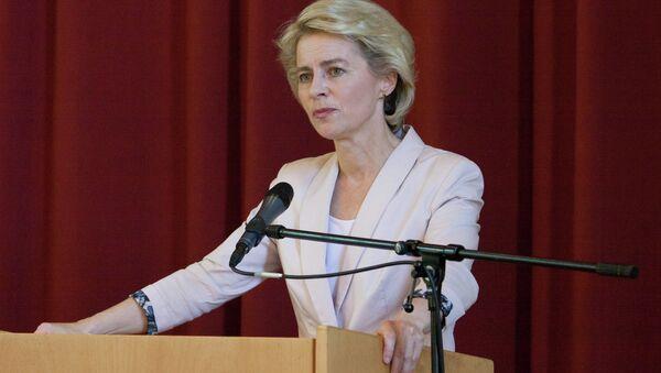 German defense minister Ursula von der Leyen - Sputnik International