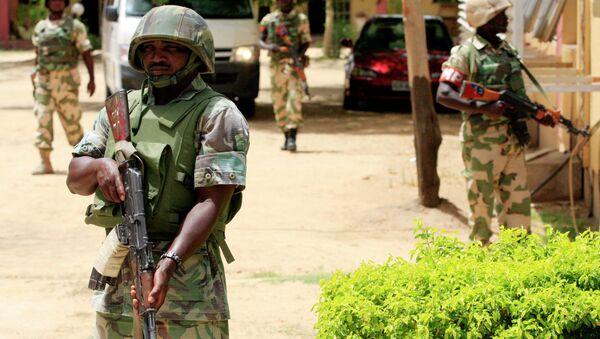 Nigerian soldiers - Sputnik International