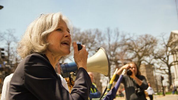 Former presidential candidate Jill Stein announced she is forming an exploratory committee to look into the possibility that she will join other 2016 hopefuls. - Sputnik International