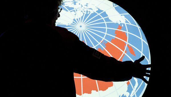 Rossiya Segodnya news agency logo - Sputnik International