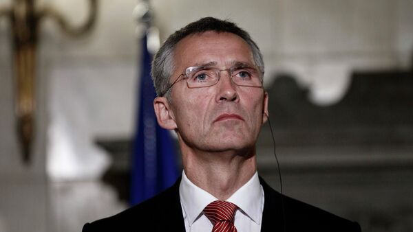 NATO Secretary General Jens Stoltenberg said that Ukraine can only submit an application for joining NATO after it conducts all the necessary reforms. - Sputnik International