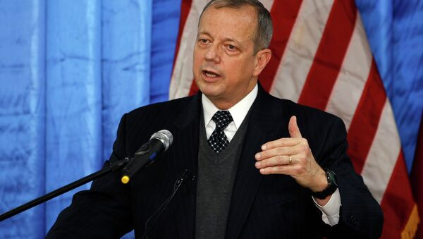 US General John Allen, special envoy for building the coalition against Islamic State - Sputnik International