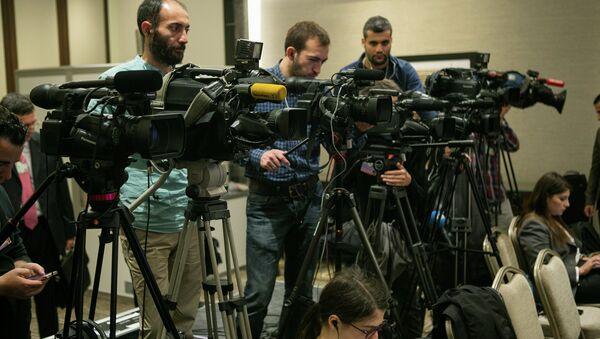 Opening Press Conference - Sputnik International