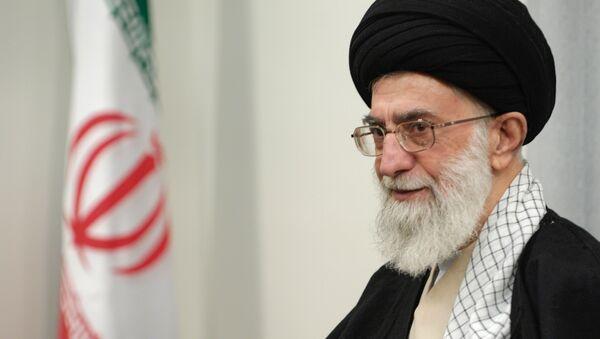 Spiritual leader of Iran Ayatollah Sayed Ali Khamenei - Sputnik International