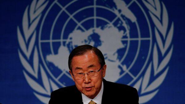 Ban Ki-moon - Sputnik International