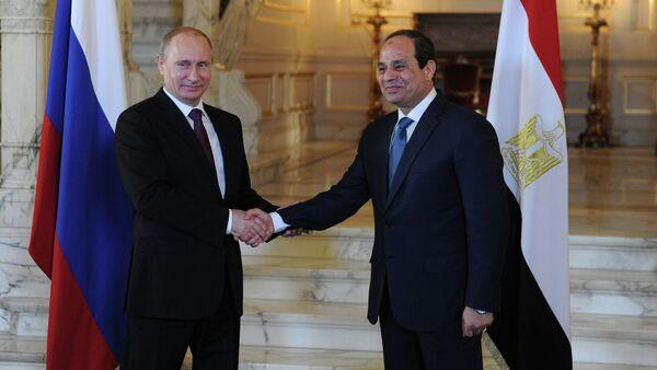 Russian President Vladimir Putin visits Egypt. Day Two - Sputnik International