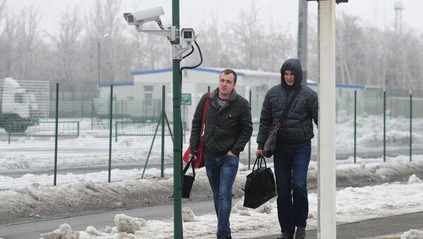 Matveyev-Kurgan checkpoint in Rostov Region - Sputnik International