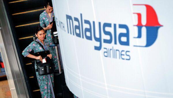 Malaysia Airlines flight crew members - Sputnik International