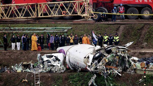 TransAsia Airways plane crash - Sputnik International