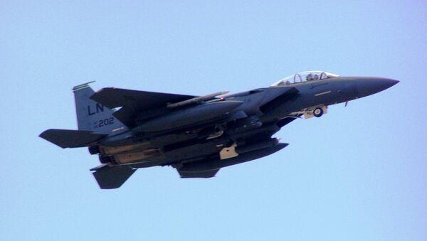 US Air Force F-15E Strike Eagle - Sputnik International