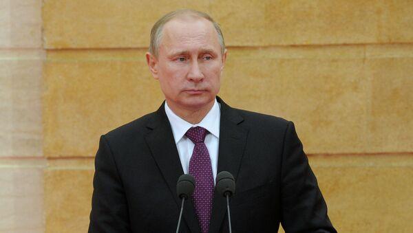 Russian President Vladimir Putin - Sputnik International