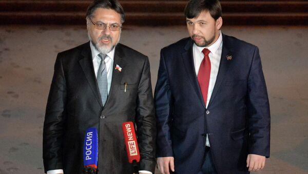 Contact group on Ukraine meets in Minsk - Sputnik International