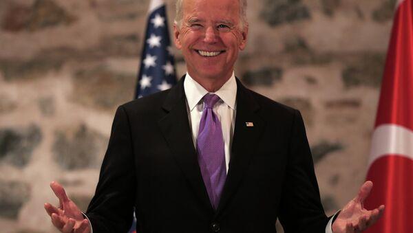 Vice President Joe Biden has long been suffering from chronic foot-in-mouth disease. - Sputnik International